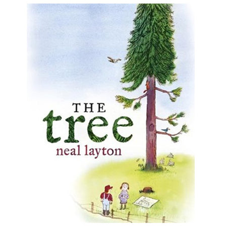 Book cover for The Tree by children's author Neal Layton