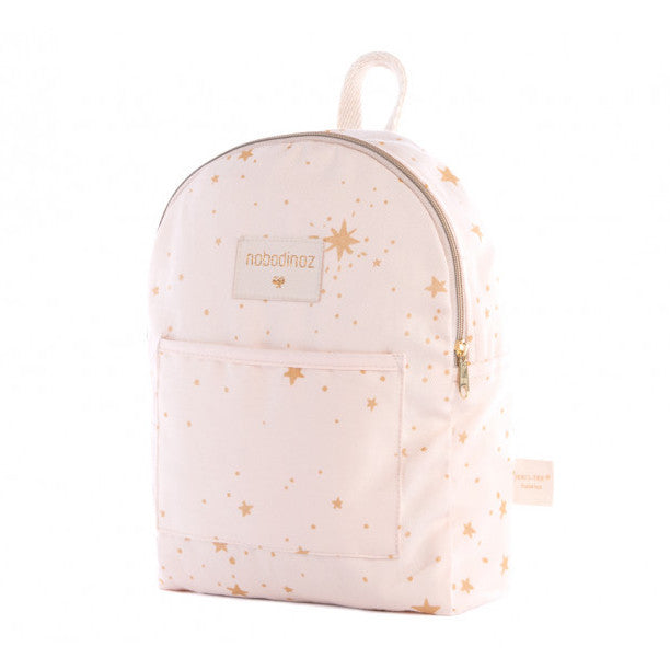Nobodinoz Too Cool Mini Backpack Gold Stella Dream Pink