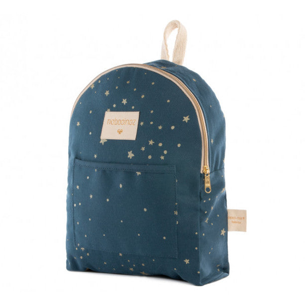 Nobodinoz Too Cool Mini Backpack Gold Stella and Night Blue