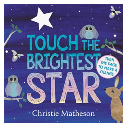 Book cover for Touch The Brightest Star by Christie Matheson