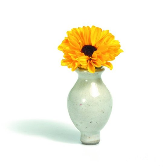 Grimm's candle holder decoration - vase white