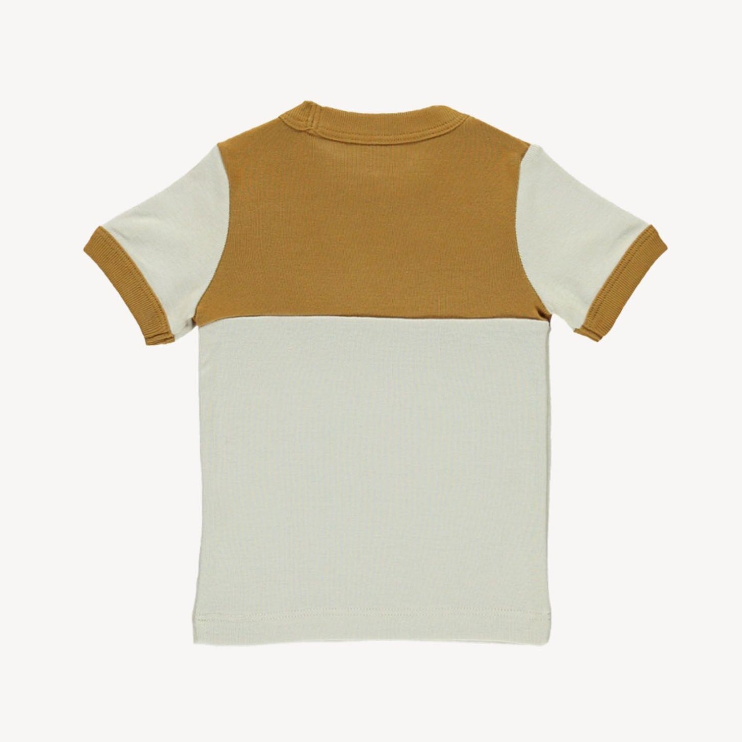 Fin and Vince Vintage Tee -Wheat