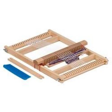 Gluckskafer wooden weaving frame/loom large