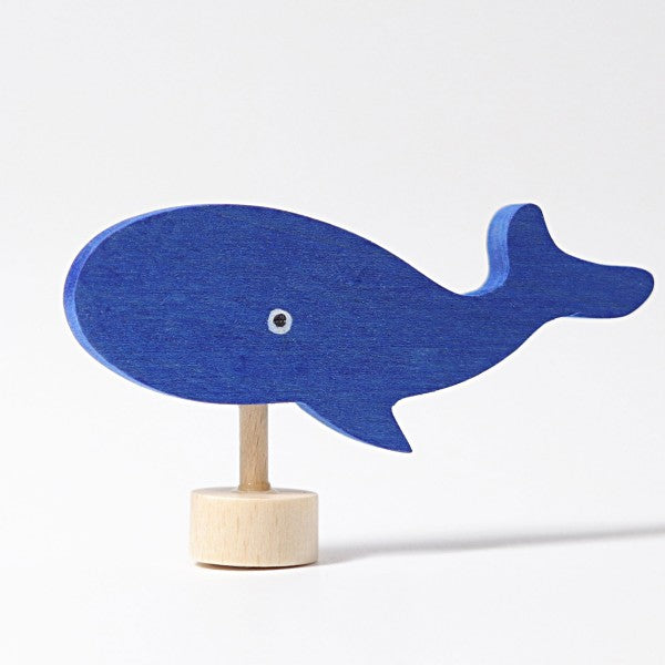 Grimm's wooden whale decoration
