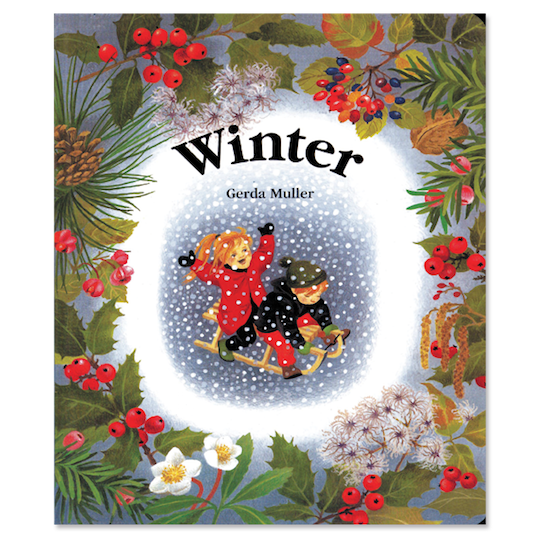 Book cover for Winter - board book by children's author Gerda Muller