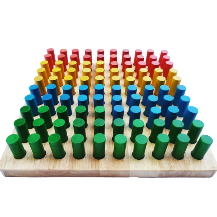 Q Toys Wooden Peg Board