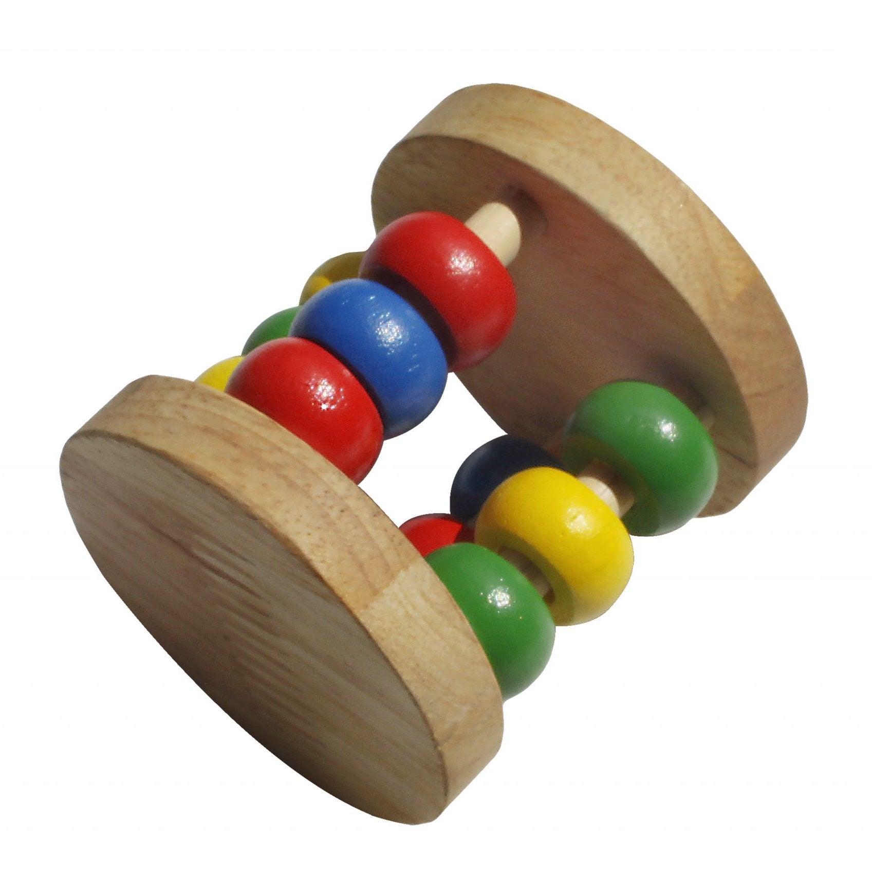 Qtoys Wooden Rattle