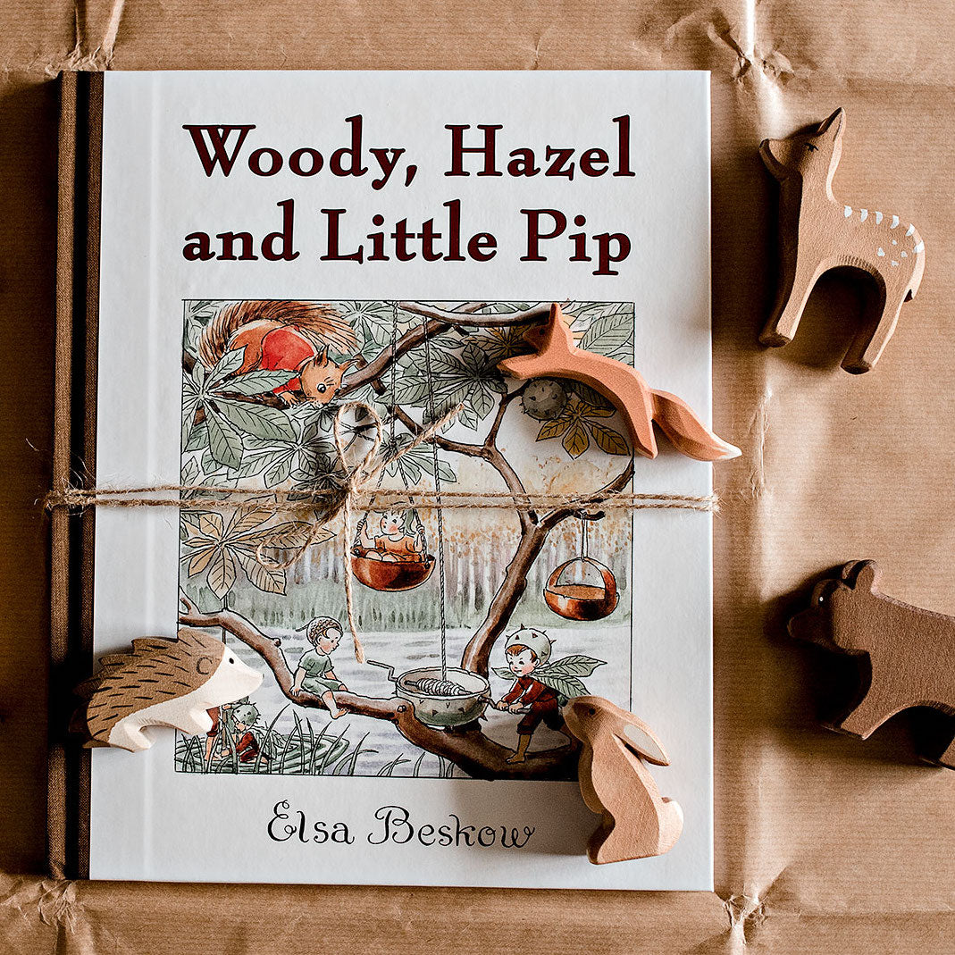 Woody, Hazel and Little Pip - children's book by author Elsa Beskow