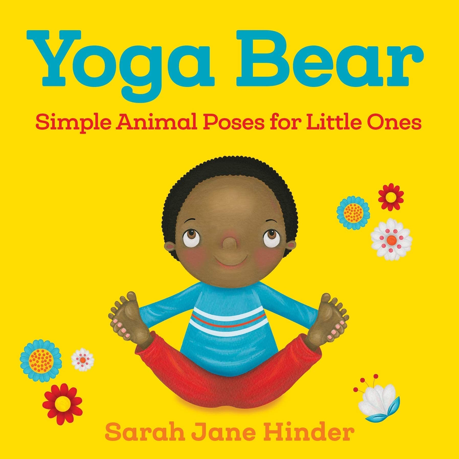 Yoga Bear - children's book by Sarah Jane Hinder