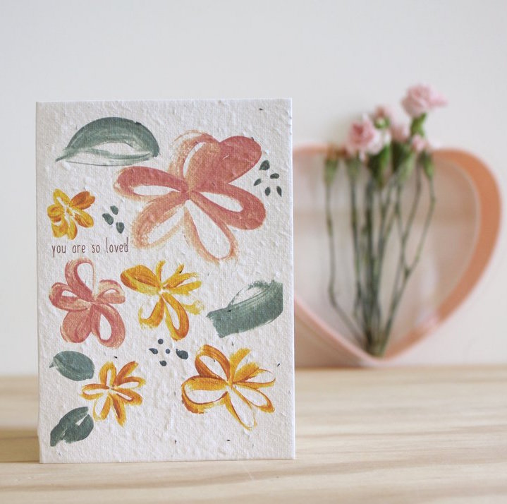 Hello Petal You Are So Loved Blooming Card