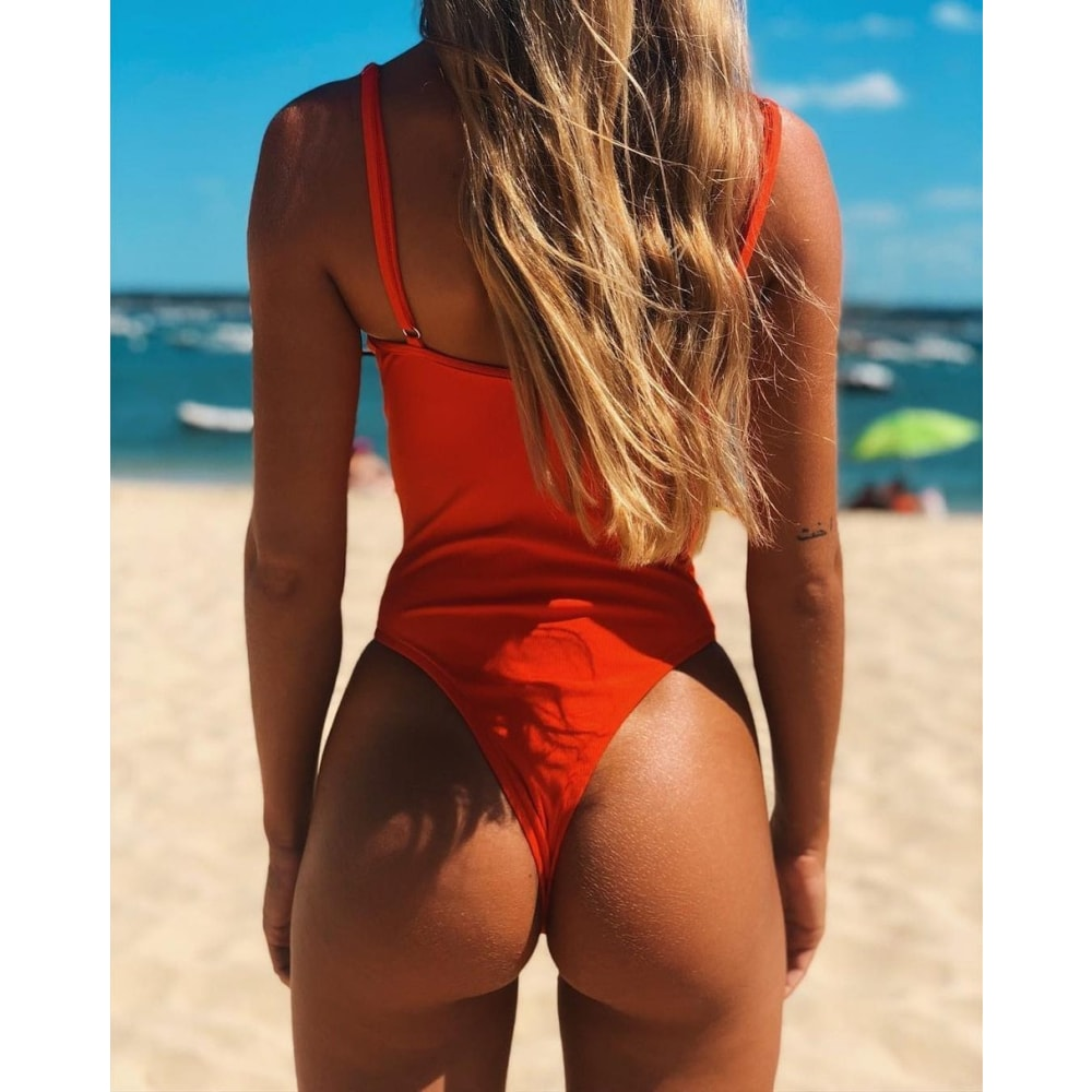 Alba Retro One Piece - At Boujee's