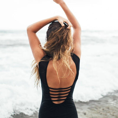 Antonia Backless One Piece - At Boujee's