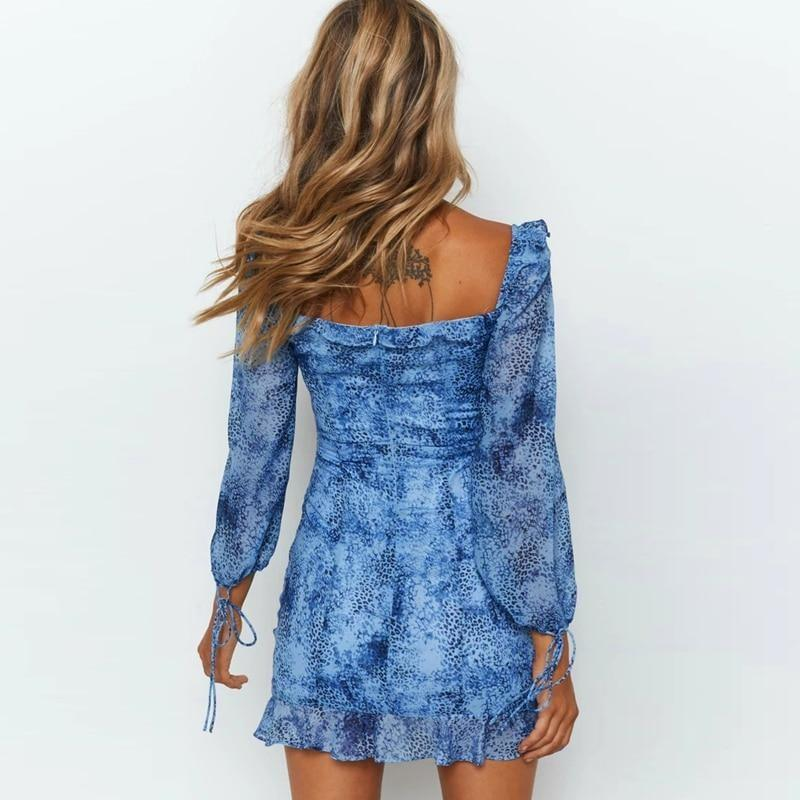 Arielle Hollow Out Mini Dress - At Boujee's