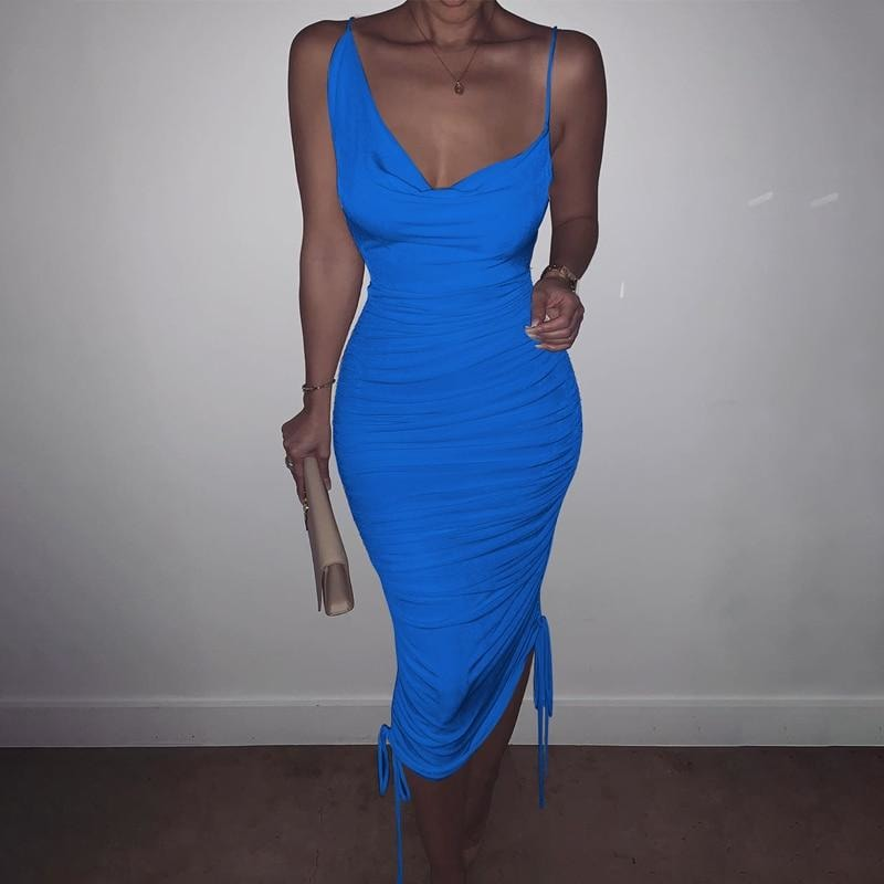 Asasia Sleeveless Dress - At Boujee's
