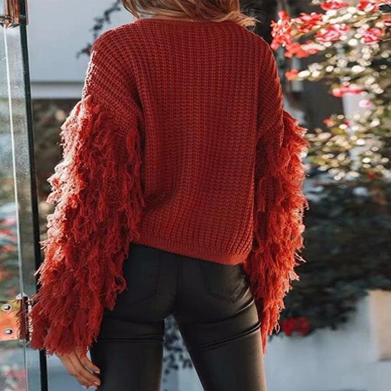 Ava Knitted Sweater - At Boujee's