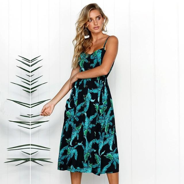 Ava Maxi Floral Dress - At Boujee's
