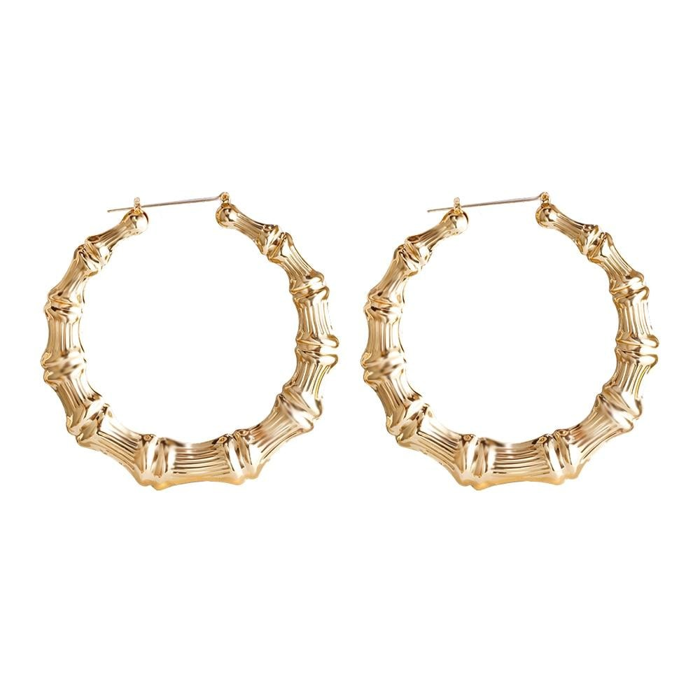 Bamboo Earrings - At Boujee's