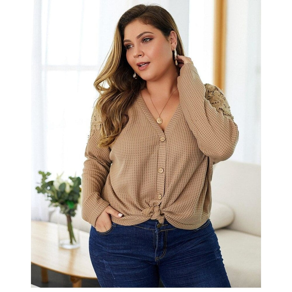Button Up Casual Top