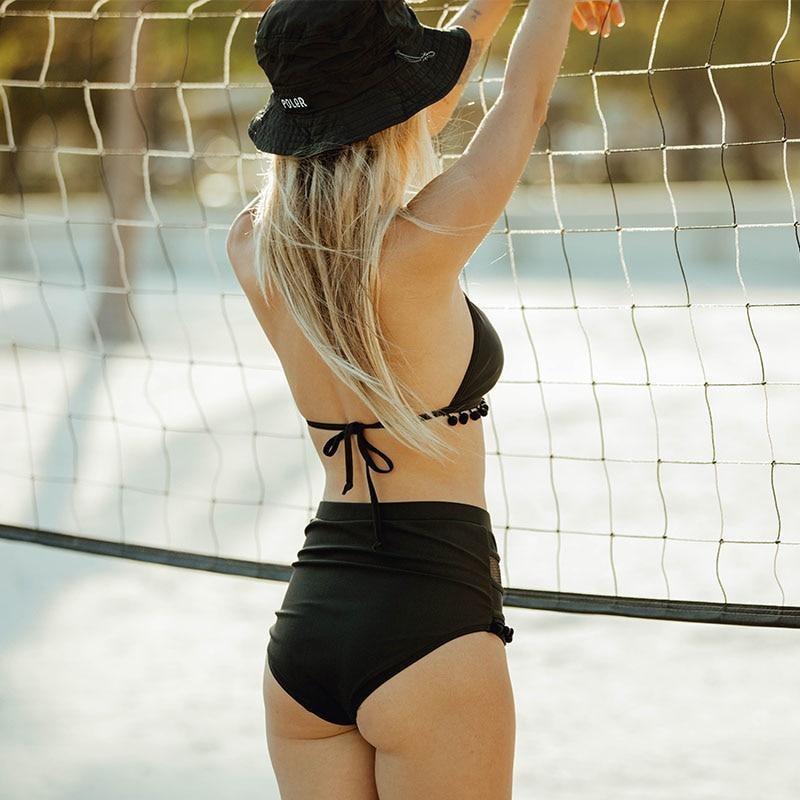 Canciana High Waist Bikini - At Boujee's