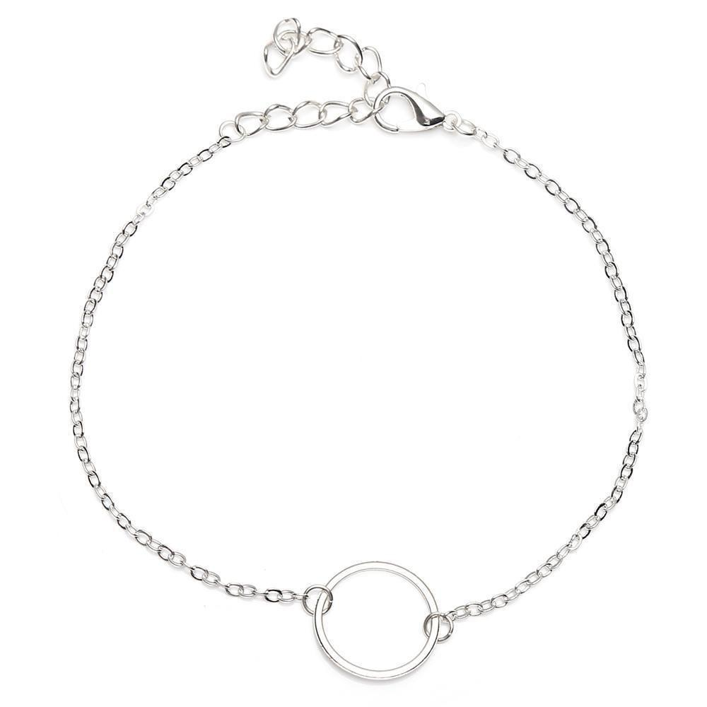 Circle Anklet - At Boujee's