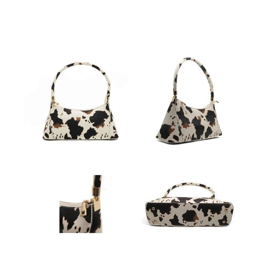 Cow Pattern Shoulder Bag