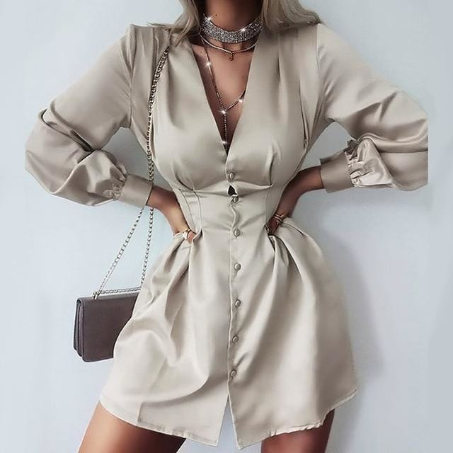 Daisy Shirt Dress - At Boujee's