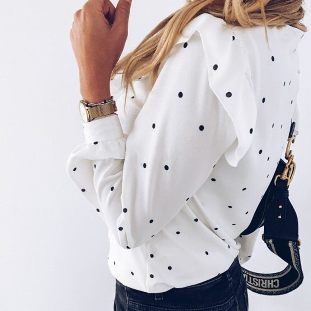 Dinah Polka Dot Blouse - At Boujee's