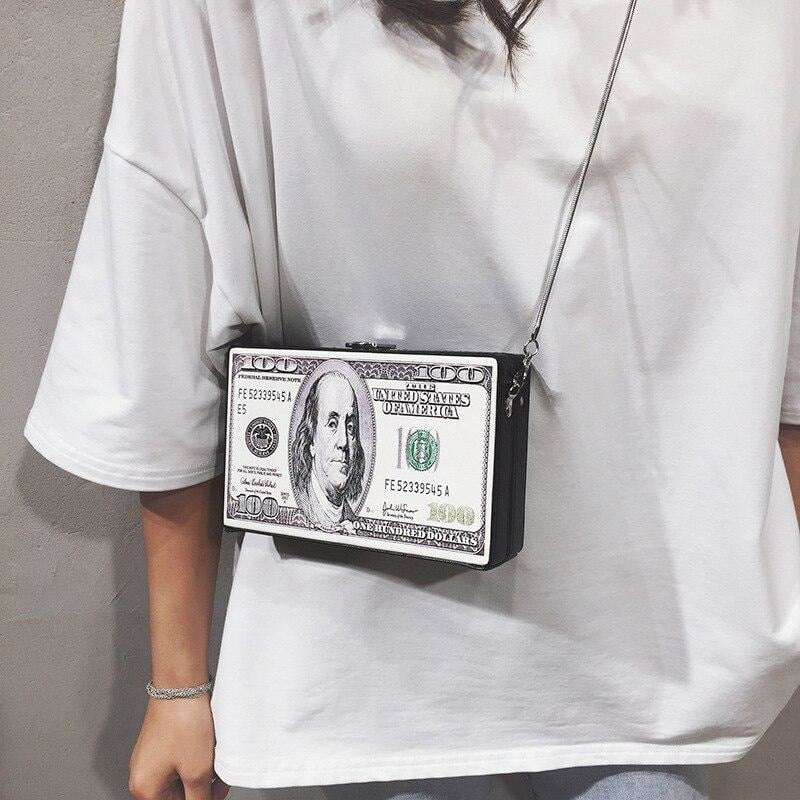 Dollar Clutch - At Boujee's