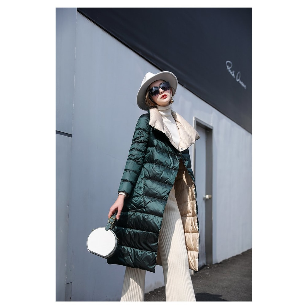 Double Sided Long Jacket