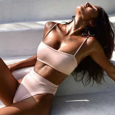 Dylla Sexy High Waist Bikini - At Boujee's
