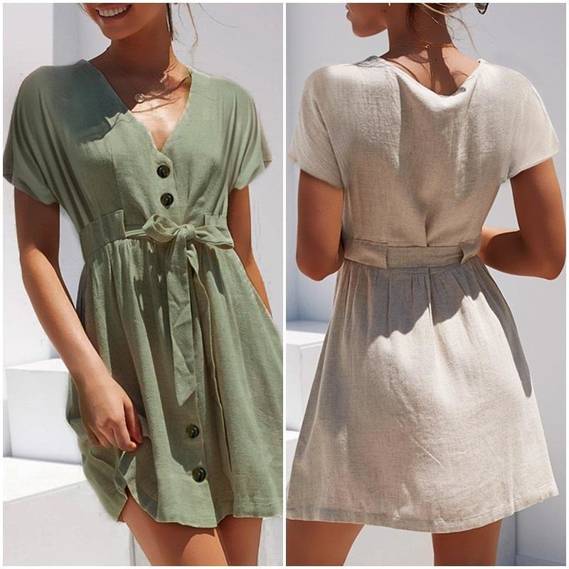 Eline Casual Mini Dress - At Boujee's