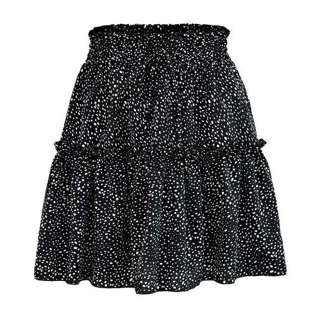 Estele Mini Skirt - At Boujee's