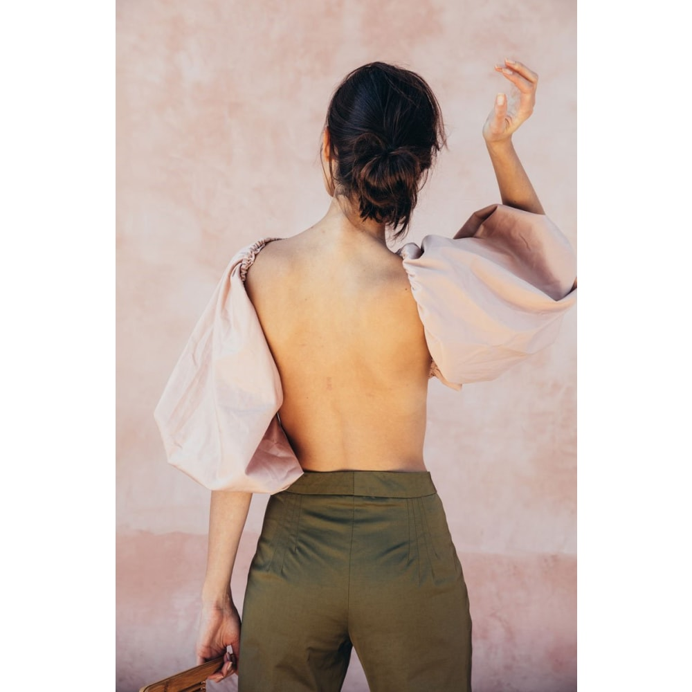 Fiona Backless Top - At Boujee's