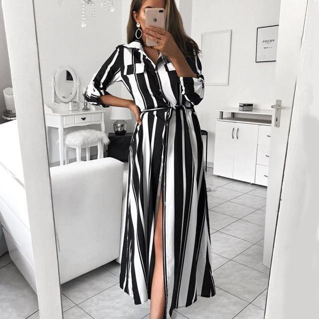 Francine Maxi Dress - At Boujee's