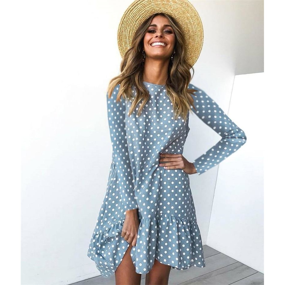 Janet Polka Dot Dress