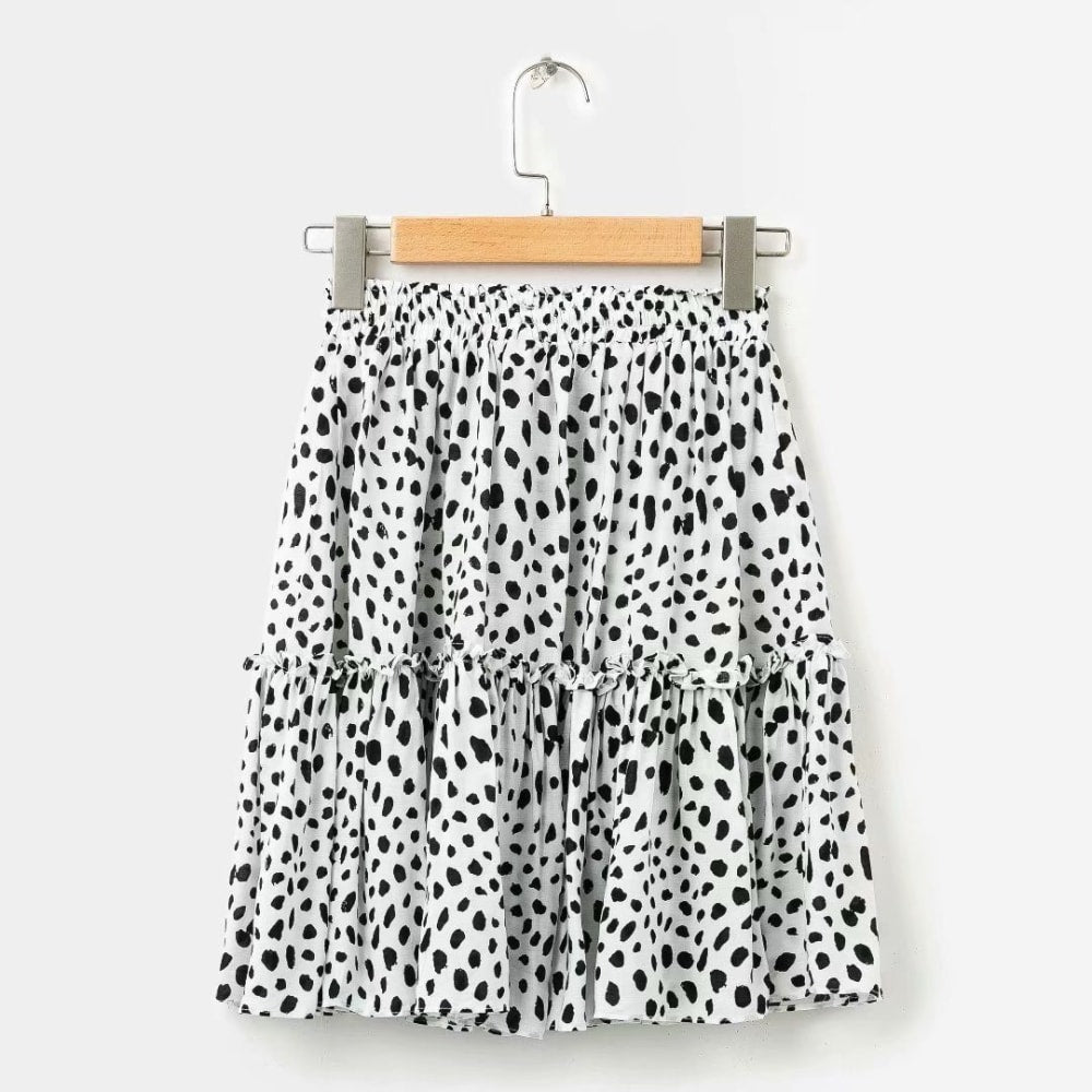 Leopard Print Mini Skirt - At Boujee's