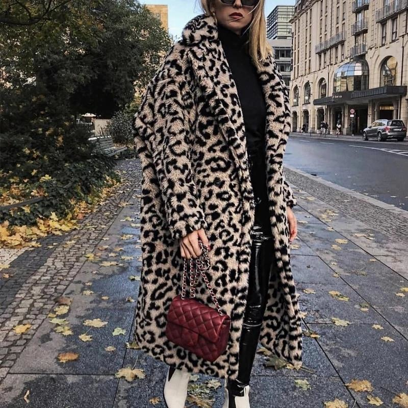 Long Teddy Bear Coat