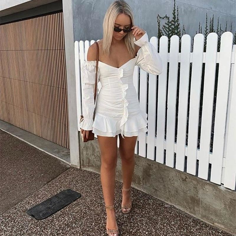 Margot Bodycon Mini Dress - At Boujee's