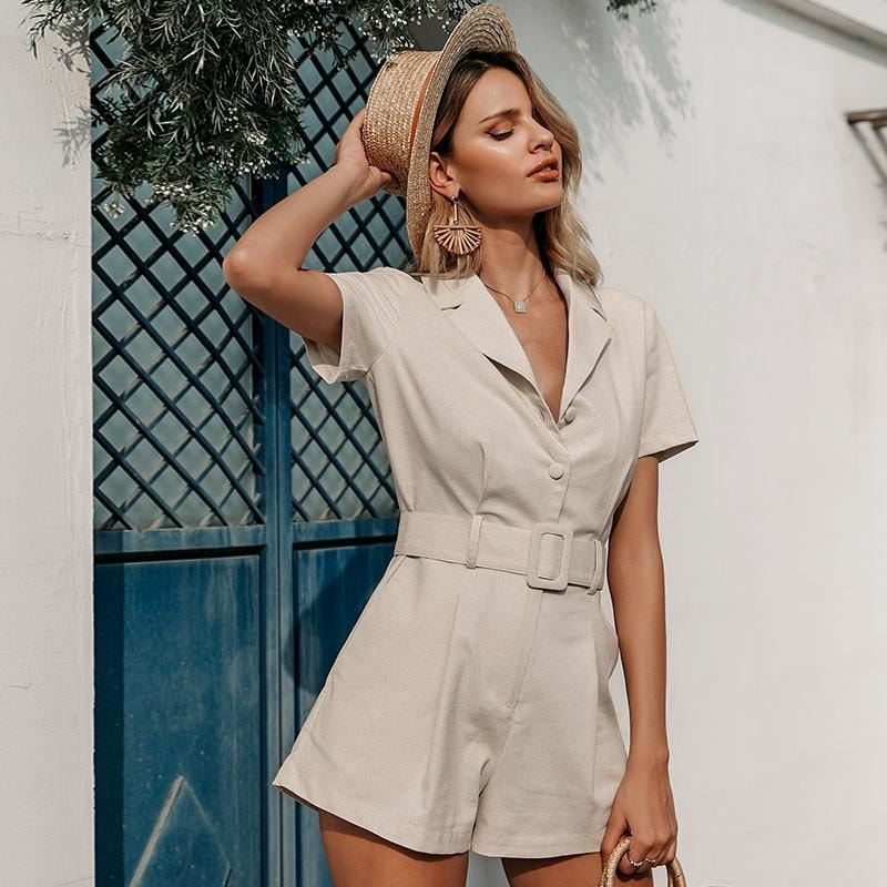 Melanie Casual Romper - At Boujee's