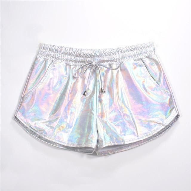 Metallic Shorts - At Boujee's