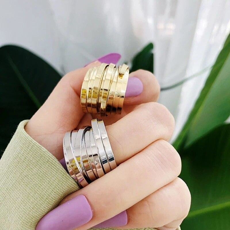 Multi Layered Ring