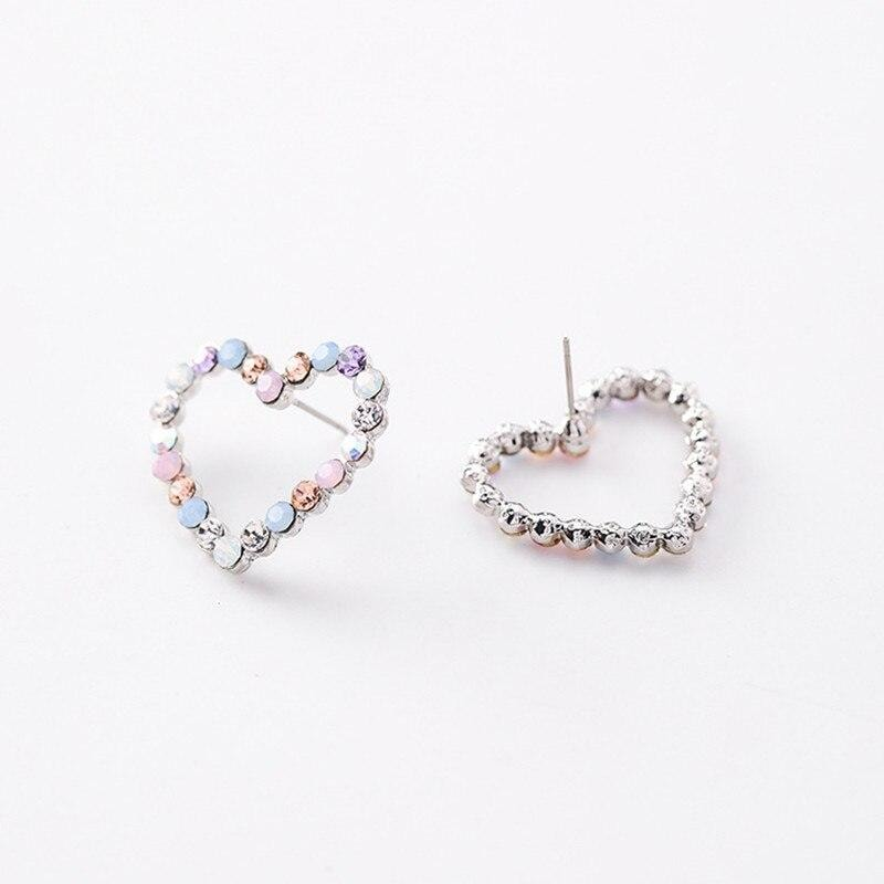MultiColor Heart Earrings