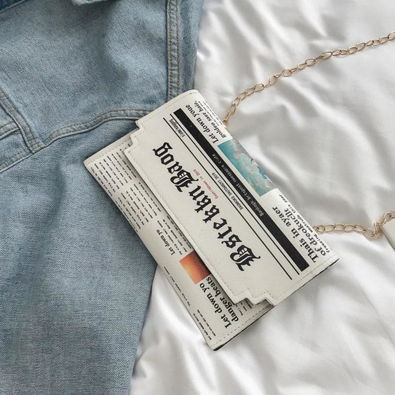 Newspaper Bag - At Boujee's