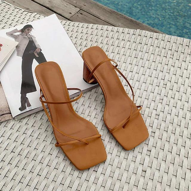 Open Toe Sandals - At Boujee's