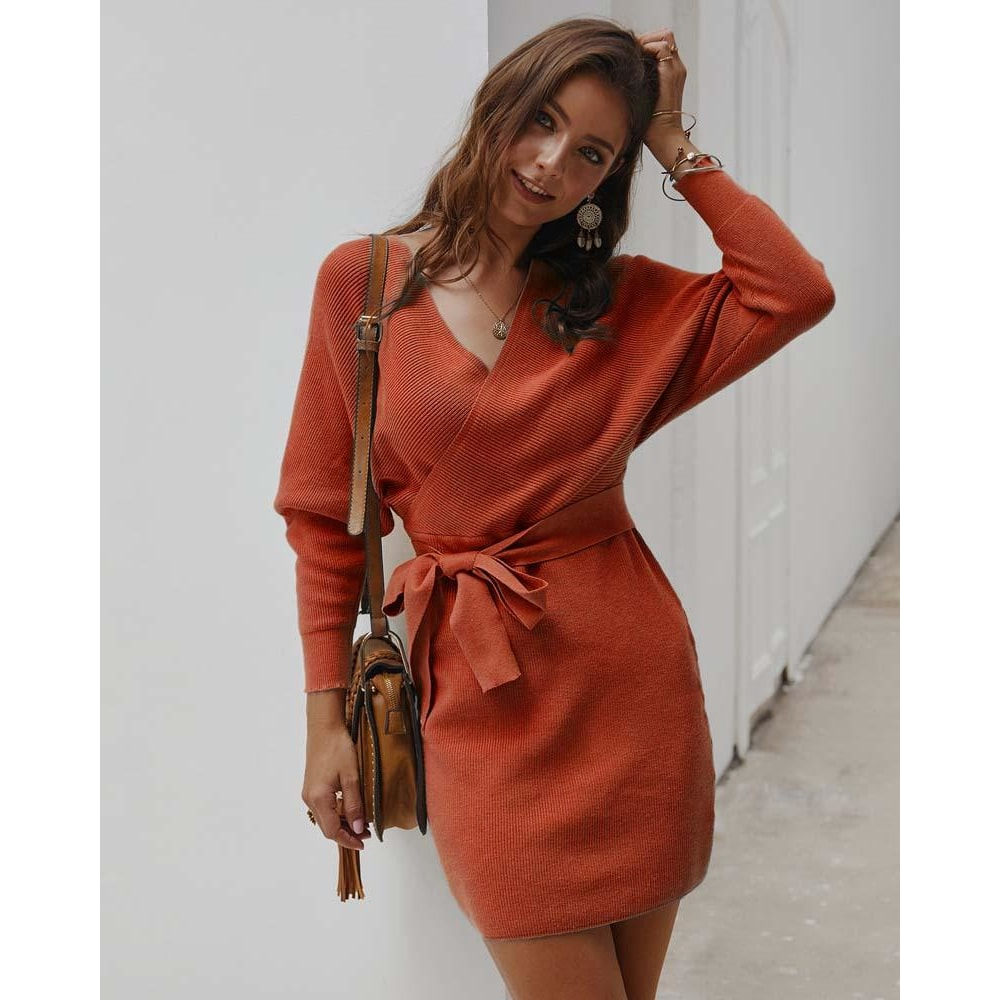 Oriana Knitted Dress
