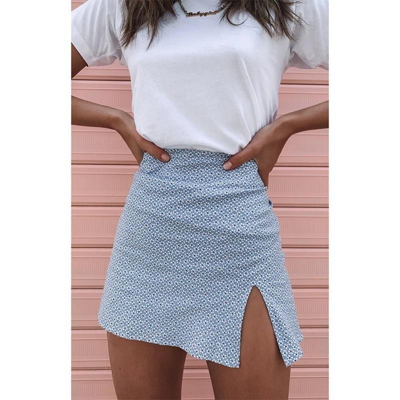 Paola Mini skirt - At Boujee's