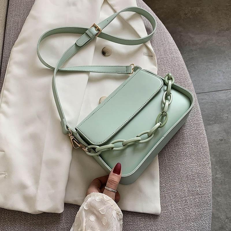 Pastel Chain Bag - At Boujee's