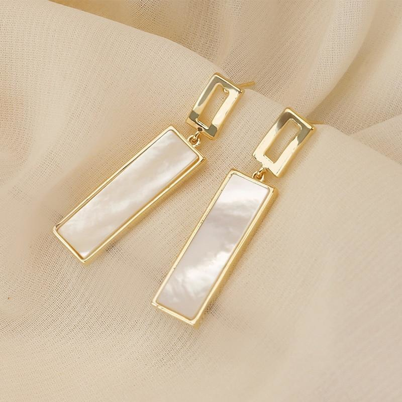 Rectangle Earrings - At Boujee's