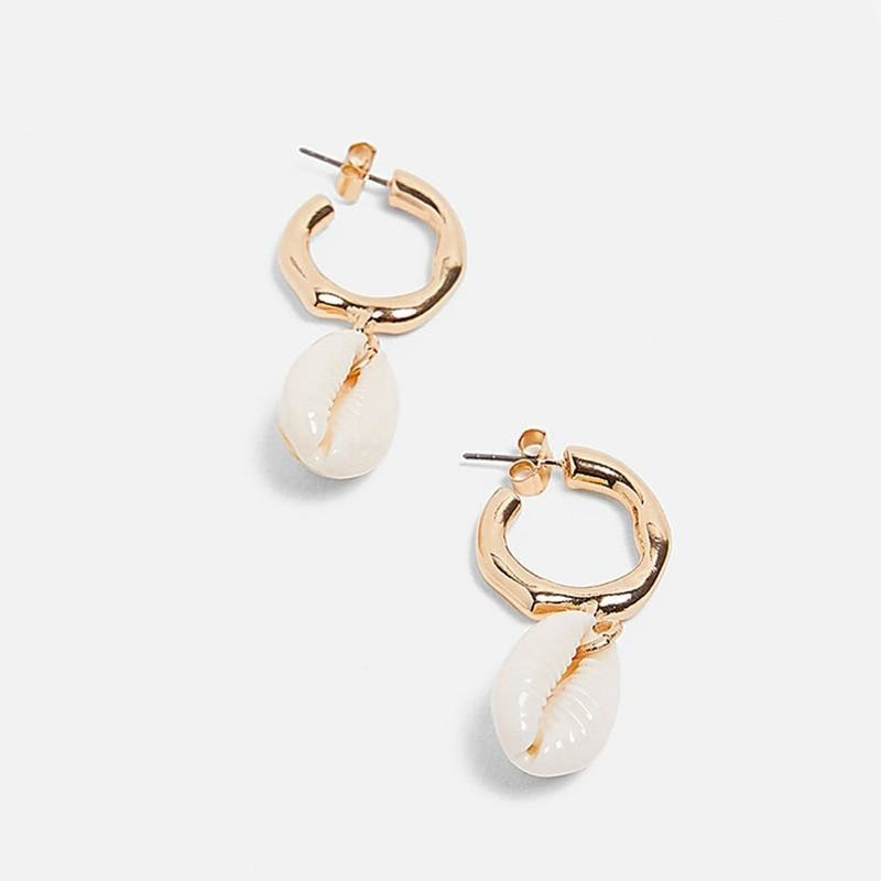 Seashell Earrings - At Boujee's