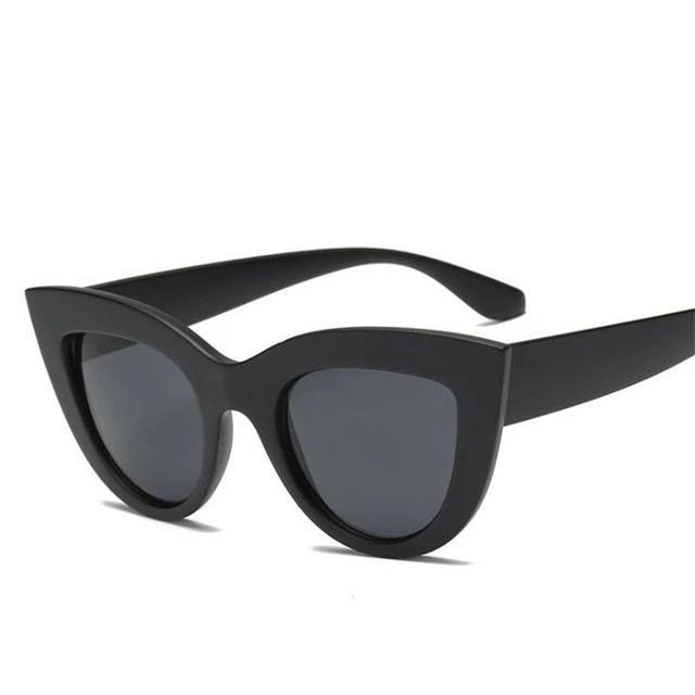 Vintage Shaped Cat Eye Sunglasses - At Boujee's